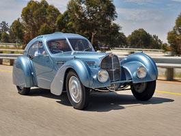 Bugatti Type 57SC Atlantic je k vidění v Mullin Automotive Museum: titulní fotka
