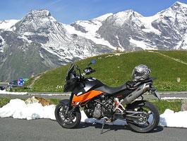 Reportáž: s KTM 990 SMT na Hochalpenstrasse: titulní fotka