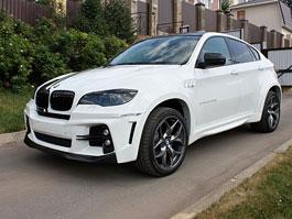 BMW X6 Interceptor: nové fotografie ruského tuningu: titulní fotka