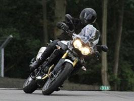 Triumph Adventure 2011 – první špionážní fotografie: titulní fotka