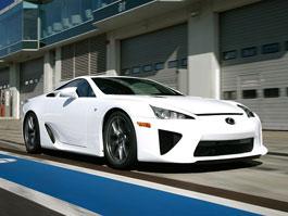 Lexus LF-A: připravuje se závodní speciál kategorie GT: titulní fotka