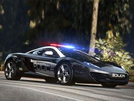 McLaren MP4-12C jako policejní auto: titulní fotka