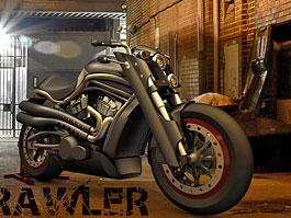 Koncept Brawler – svalnatý Harley-Davidson Sportster: titulní fotka