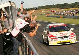 BTCC Silverstone: kolo cti pro Type R: titulní fotka