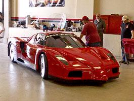 Ferrari Enzo: Přestavba z vraku na rekordní prototyp: titulní fotka