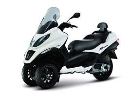 Piaggio MP3 Sport - změny v doplňcích a nový motor: titulní fotka