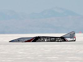 Venturi Buckeye Bullet: světový rychlostní rekord v elektromobilech: titulní fotka
