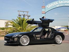 Mercedes-Benz SLS AMG: První sada úprav se značkou Brabus: titulní fotka