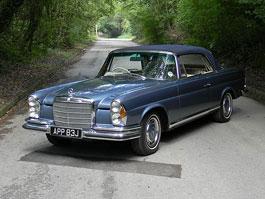 Mercedes-Benz 280 SE Cabriolet: Rarita míří do aukce: titulní fotka