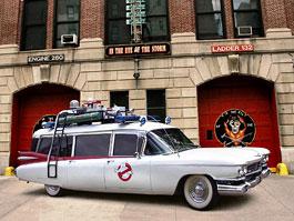 Ecto 1: Krotitelé duchů prodávají svůj služební Cadillac: titulní fotka