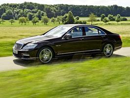 Mercedes-Benz S63 AMG - nové fotografie: titulní fotka