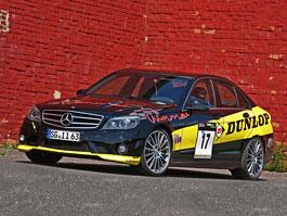 Mercedes-Benz C63 AMG Dunlop-Performance od Wimmer RS: titulní fotka