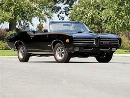 1969 Pontiac GTO Judge: Vzácný kabriolet míří do aukce: titulní fotka