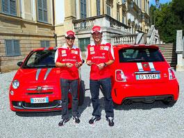 Abarth 695 Tributo Ferrari: dva kousky i pro Massu a Alonsa: titulní fotka