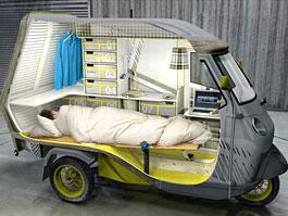 Piaggio Bufalino Ape 50 – minikaravan pro jednoho: titulní fotka