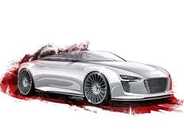Audi e-Tron Spyder: první obrázky: titulní fotka