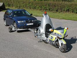 Honda Goldwing Retriever - motorka jako odtahovka: titulní fotka