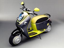MINI Scooter E: Jednostopý koncept pro Paříž: titulní fotka
