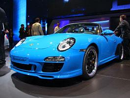 Paříž 2010 živě: Porsche 911 Speedster: titulní fotka