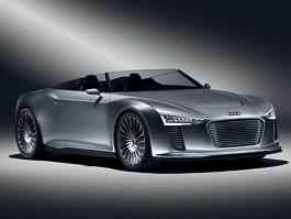 Paříž 2010: Audi e-Tron Spyder Concept – rozumnější budoucnost: titulní fotka