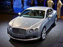 Paříž 2010 živě: Bentley Continental GT: titulní fotka