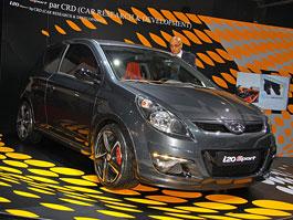 Paříž 2010 živě: Hyundai i20 - tuning od Brabusu na továrním stánku: titulní fotka