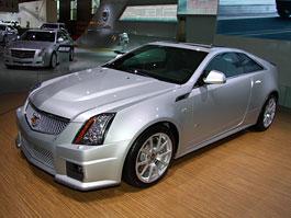 Paříž 2010 živě: Cadillac CTS Coupé: titulní fotka