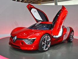 Paříž 2010 živě: Renault DeZir - pohled do budoucnosti: titulní fotka
