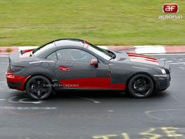 Spy Photos: Mercedes-Benz SLK v sexy červené: titulní fotka