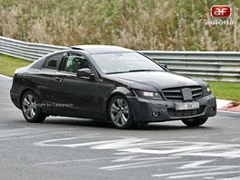 Spy Photos: Mercedes-Benz C Coupe: titulní fotka