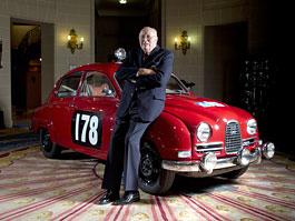 Saab si připomíná první vítězství na RAC Rally: titulní fotka