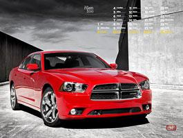 Kalendář na říjen: Audi a Dodge: titulní fotka