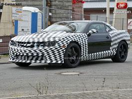 Spy Photos: nabroušený Chevrolet Camaro Z28: titulní fotka