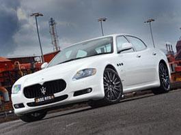 Maserati Quattroporte MC Sport Line: karbon a hliník: titulní fotka