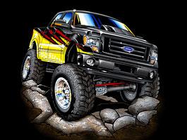 Ford F-Series na SEMA: šťastná sedmička: titulní fotka