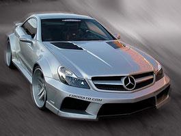Mercedes-Benz SL: widebody kit od Misha Designs: titulní fotka