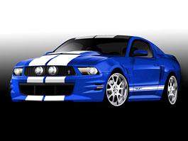 SEMA 2010: devět statečných (Mustangů): titulní fotka