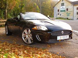 Za volantem: Jaguar XKR Convertible: titulní fotka