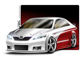 SEMA 2010: RK Collection Toyota Camry NASCAR Edition: titulní fotka