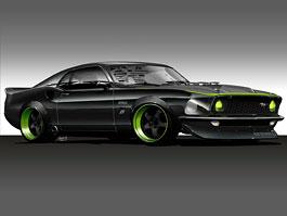 SEMA 2010: Vaughn Gittin Jr. a jeho 1969 Mustang RTR-X: titulní fotka