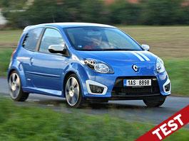 Test: Renault Twingo Gordini: TmavomodRý Svět: titulní fotka