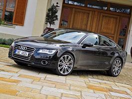 Za volantem: Audi A7 Sportback: titulní fotka