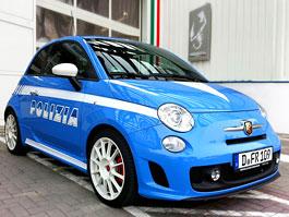 Fiat 500 Abarth jako policejní vůz: bude pomáhat a chránit?: titulní fotka