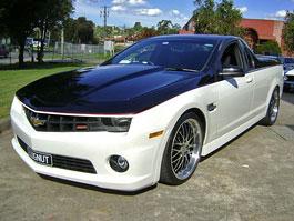 Holden Ute SS: přeměna v Chevrolet Camaro Pick-up: titulní fotka