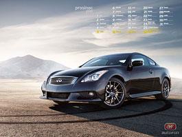 Kalendář na prosinec: Infiniti a Mustang: titulní fotka