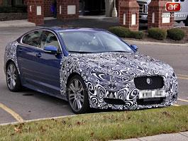Spy Photos: Jaguar XFR facelift: titulní fotka