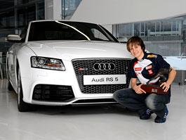 Martina Sáblíková má Audi RS5: titulní fotka