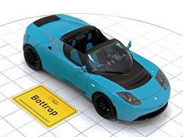 Brabus: nový Green Package pro Teslu Roadster Sport: titulní fotka