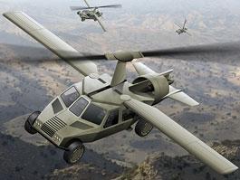 Americká armáda chce pojízdné letadlo. Nebo létající auto.: titulní fotka