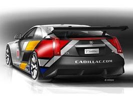 Cadillac se vrátí na závodní tratě - s CTS-V: titulní fotka